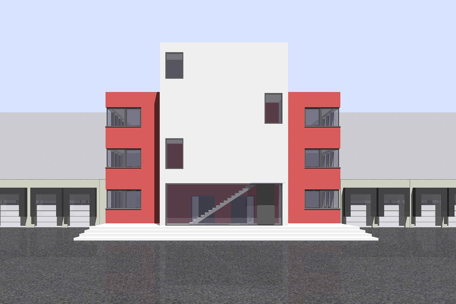 9307 MLC Masterplan Logistik Center, Krefeld – thelenarchitekten